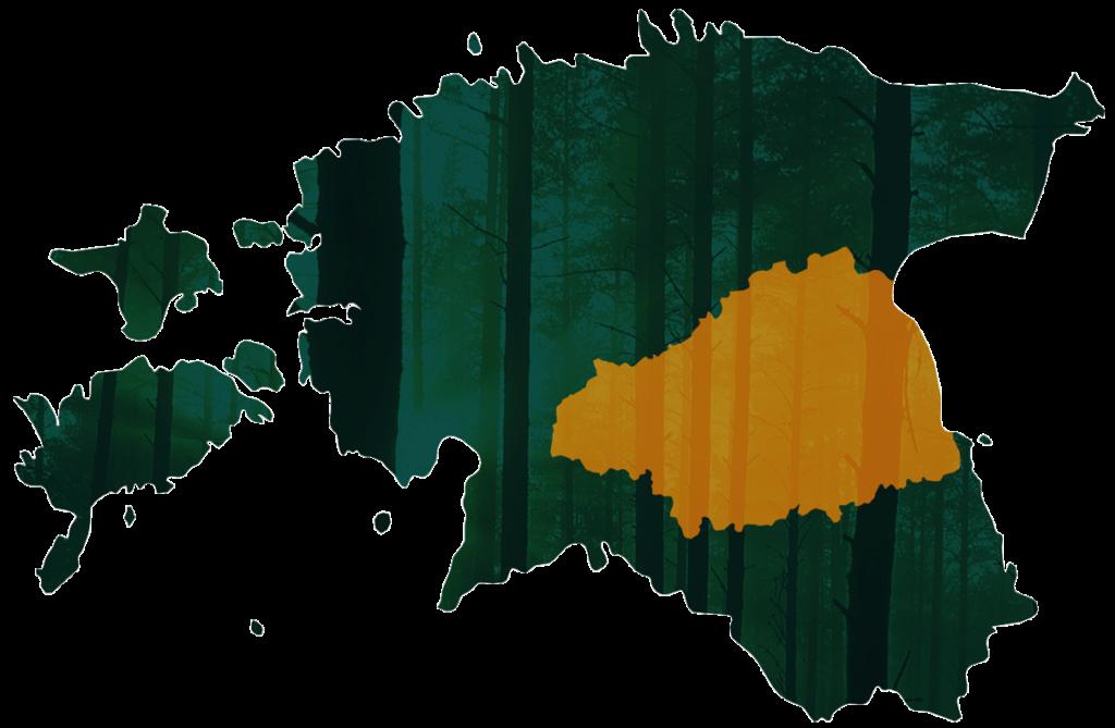Vooremaa Metsaühistu piirkond